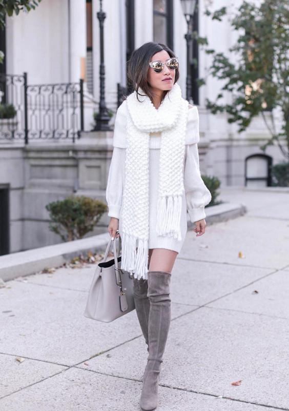 پوشیدن لباسی به رنگ سفید