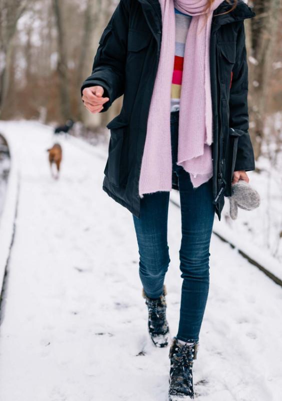 پوشیدن کت های جیر